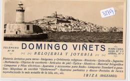 Carte De Visite (format CPA -2 Scans)  - Espagne - Ibiza - Domingo Vinets - Visiting Cards