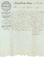 Lettre De 1853 - FLEMALLE-GRANDE & SERAING - SOCIETE CHARBONNIERE DE MARIHAYE - Gérant : Edouard THYS - Ohne Zuordnung