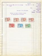 Facture De 1938 HERMALLE-SOUS-ARGENTEAU - L. DEHOUSSE - Boulonnerie Et Mécanique - Ohne Zuordnung
