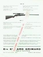 Publicité Des Ets EDGARD GRIMARD à BRESSOUX-LIEGE - Fabricant D'armes & Munitions - Pubblicitari