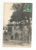 Cp , 22 , LOUANNEC , Le Château De BARAC'H , Voyagée , Cie Des Chemins De Fer Des Côtes Du Nord - France