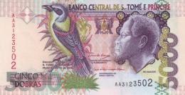 SAO TOME AND PRINCIPE 5000 DOBRAS 2004 P-65c UNC  [ST303c] - Sao Tome And Principe