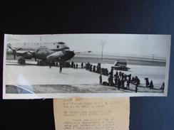 Départ D'Orly Des Parachutistes Français Pour L'Indochine ASSOCIATED PRESS 24/4/1954 - Aviazione