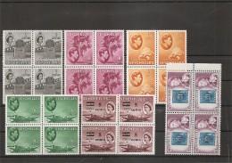 Seychelles ( Lot De Timbres Divers Différents En Blocs De 4 XXX -MNH) - Seychellen (...-1976)