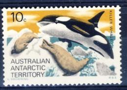 +Australian Antartic Territory 1973. Whale. Michel 28. MNH(**) - Australian Antarctic Territory (AAT)
