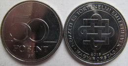 """New!!! Hungary 50 Forint 2015 """"Hungarian National And Historic Memorials"""" UNC - Hongrie"""
