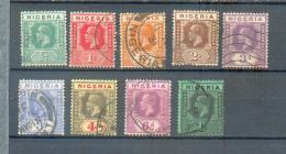 A 88 - Nigeria - YT  18-19-20-23-25-26-27-28-29  ° - Nigeria (...-1960)