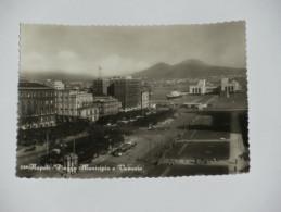 NAPOLI - Piazza Municipio E Vesuvio - Corriere - Napoli (Naples)
