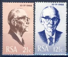#South Africa 1968. Fouché. Michel 361-62. MNH(**) - Neufs