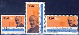 #South Africa 1973. Langenhoven. Michel 424-26. MNH(**) - Afrique Du Sud (1961-...)
