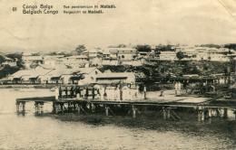 CONGO BELGE(MATADI) ENTIER POSTAL - Congo Belga - Otros