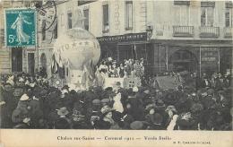 71-497 CPA  Original  CHALON SUR SAONE   Carnaval 1912 Verda Stello  ANIMATION      Belle Carte - Chalon Sur Saone