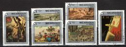 NICARAGUA - 1989 - BICENTENARIO DELLA RIVOLUZIONE FRANCESE - USATI - Nicaragua