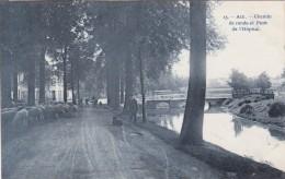 Ath - Chemin De Ronde Et Pont De L'hopital - Ath