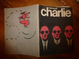Mai 1976 CHARLIE MENSUEL :Rédacteur En Chef Wolinski «Journal Plein D'humour» Et Histoire De Khelifi Ahmed Le Saharien - Wolinski