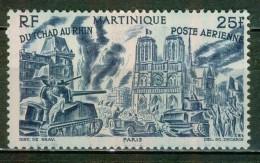 Libération De Paris - MARTINIQUE - Du Tchad Au Rhin, Cathédrale Notre Dame, Chars De Combat, N° 11 - 1946 - Martinique (1886-1947)