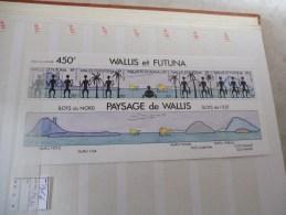 Bloc 6  Paysage Wallis Futuna - Blocs-feuillets