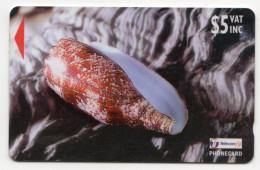 FIDJI Ref MVCARDS FIJ-138 COQUILLAGE CONE 5$ Date 1998 - Fidji