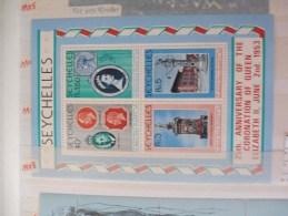 Bloc 10 25 Anniversaire Elisabeth 2 - Seychelles (1976-...)