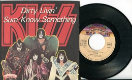 "Kiss""45t Vinyle""Dirty Livin' - Hard Rock & Metal"