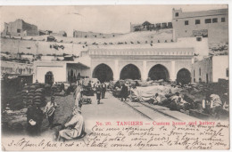 TANGIERS  - ( Afrique- Maroc    ) - Custom House And Battery - Tanger