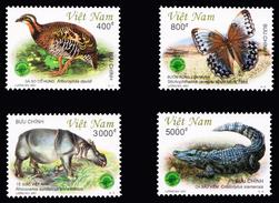 Vietnam 2001 - Animals In Cat Tien Park - Mariposas