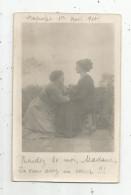 Cp , Carte Photo , Femmes , BAGNOLET , 1910 - Femmes