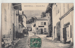MONTREAL LA CLUSE           GRANDE RUE - Francia