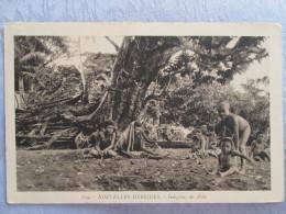 NOUVELLES HEBRIDES . INDIGENES DE AOBA - Postcards