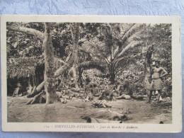 NOUVELLES HEBRIDES . JOUR DE MARCHE A AMBRYM - Cartes Postales