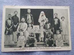 INDOCHINE  . UNE FAMILLE DE CHRETIENS FERVENTS - Viêt-Nam