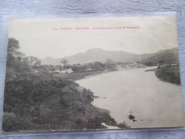 TONKIN . CAOBANG . LA RIVIERE ET LA CHAINE DE MONTAGNES - Vietnam