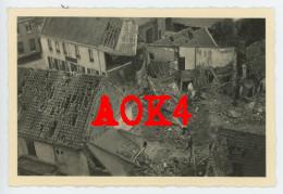AALBEKE Kortrijk Mei 1940 Bombardement Vormarsch Wehrmacht Duitse Bezetting (2) - Guerra, Militari