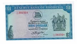 Rhodesia 1 Dollar 18/4/1978 UNC - Rhodesia