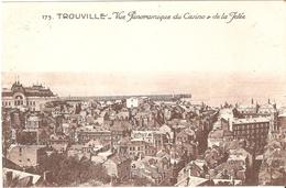 Trouville - Vue Panoramique Du Casino Et De La Jetée - Trouville