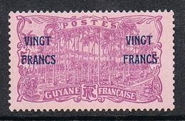 GUYANE N°96 N* - Guyane Française (1886-1949)