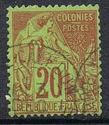 COLONIES GENERALES N°52  Oblitération De Nouvelle-Calédonie