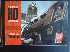 Catalogue HO JOUEF 1968-1969 Télécommande électronique - Train Electrique Bon ETAT - Model Making