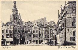 Bd - Cpa Hollande - Nijmegen - Groote Markt Met Waag - Nijmegen