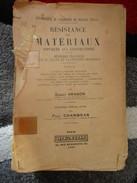 """Résistance Des Matériaux """"Tome 2""""  (Ernest Aragon) éditions Dunod De 1929 - Livres, BD, Revues"""