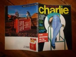 1982 CHARLIE MENSUEL :Rédacteur En Chef Wolinski «Journal Plein D'humour» - Wolinski