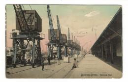 ARGENTINE  /  BUENOS-AIRES  /  DARSENA  SUD  /  CACHET  PRIVE  De  ALFONSO  PASTOR  ( En 1909 ) - Argentine
