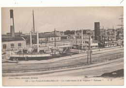 """LA PALLICE-ROCHELLE - La Calle Sèche Et Le Vapeur """"Vulcain"""" - La Rochelle"""