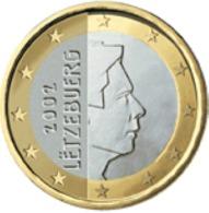 Luxemburg 2016     1 Euro    UNC Uit De Rol  UNC Du Rouleaux  !! - Luxembourg