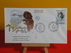FDC > 1970-1979 > Paul De Chomedey De Maisonneuve - 10 Neuville Sur Vanne - 19.2.1972 - 1er Jour. Coté 1,80 € - FDC