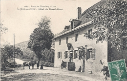 JEAN DE  COUZ HOTEL DU CHEVAL BLANC 1908 - Francia