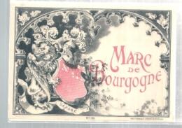 étiquette  - 1900/20* - étiquette Générique MARC DE BOURGOGNE - Other