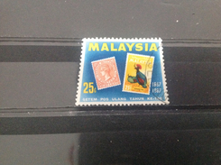 Maleisië / Malaysia - 100 Jaar Postzegels (25) 1967 - Maleisië (1964-...)