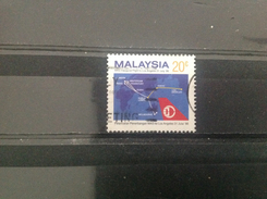 Maleisië / Malaysia - MAS 1e Vlucht Naar LA (20) 1986 - Maleisië (1964-...)