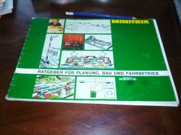 CB6 Catalogue 116 Pages Minitrix 1978 Ratgeber Für Planung Bau Und Fahrbetrieb - Train Modélisme - No Marklin - Books And Magazines